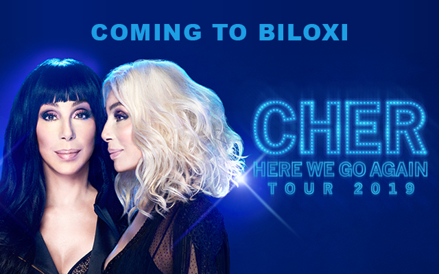 Cher is coming to the Coast!